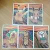 ムンクのピカチュウ ポストカードとポケカ比較