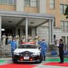 栃木県警にレクサスLCのパトカーが寄贈される