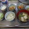 幸運な病のレシピ( 355 ) 朝:麻婆豆腐(ひよこ豆入り)、煮しめ、煮魚