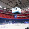読売新聞写真部 フィギュアスケート世界選手権]  エリクソングローブ に入ることができました。