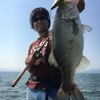 琵琶湖でマグナムクランキング
