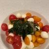 (オススメ)会社の取れたてトマトでカプレーゼ作った