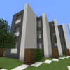 【Minecraft】低層マンションをつくる② 完成・内装外構編