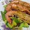 レクチンフリー赤海老と野菜のハーブガーリック焼き