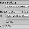 【Unity】複数解像度に自動で対応【CanvasScaler】