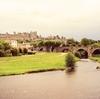 【フランス・世界遺産】外から眺める歴史的城塞都市カルカソンヌ