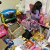 いらないおもちゃ、さようなら。4歳女子の片付けスイッチON!!