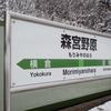 冬の飯山線・森宮野原で途中下車 -豪雪地帯を行く⑤