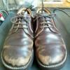 312 靴磨きの醍醐味は、鏡面じゃない。「落差」!
