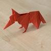 折り紙 キツネ