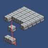 【Unity】2Dタイルマップ12 Tileを掴んで、移動させて、配置する