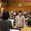朝会 6年1組:学活 授業研究会