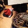 昨日はクリスマスコンサートの練習