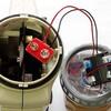 単二電池×4本→Li-ion電池(CR2)×2⇒軽量化