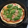 ランチにピザ