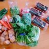 神奈川県の直売所。農家の野菜を食べる。