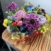 月1のお花教室とヘルシー夜ご飯