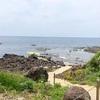 岩壁と世界一のベンチ! 石川県志賀町(94/1741)