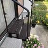 庭への出入り口、段差解消&手すり設置