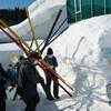 雪あそび博覧会(SNOWART2021)が始まりました。