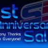 1周年記念セール、開始いたします!