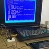 スマホからMSXパソコンへプログラム転送実験