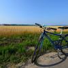 風が心地よい8月のサイクリング