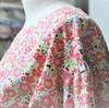 ボリューム袖のフラワーシャツブラウス。縫製前編。