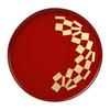 「オリンピック公式ライセンス商品」として石川県代表で輪島塗の丸盆が販売されてますヽ(゚∀゚)ノ
