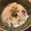 449. 鯛塩そば&鯛茶漬け@灯火(曙橋):上質な鯛だしによるラーメンと鯛茶漬けがたまらん!
