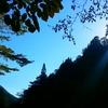 面河渓の滝
