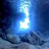 宮古島の青の洞窟。