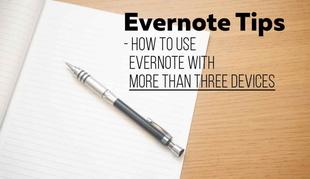 Evernote、無料版の台数制限に困っているなら「共有ノートブック」を活用しよう