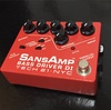 【レビュー】TECH21 SansAmp BASS DRIVER DI Vermilion