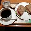上島珈琲店サンドウィッチランチとアドセンス