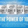 Intelが「第10世代Coreプロセッサ(Comet Lake-H)」を発表。ハイエンドモバイル向け。最大5.3GHz稼働
