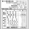 株式会社radiko 第10期決算公告