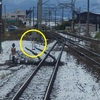 【鉄道施設系】 引き込み線の遺構ではない。安全側線