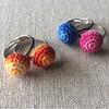 【編み図】刺繍糸で編む 指輪の作り方