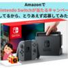 Amazonで「Nintendo Switchが当たるキャンペーン」してるから、とりあえず応募してみた件