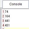 TI-Nspire & Lua / スクリプティングのヒント / ipairs() は使わない