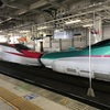 新幹線に乗ってケアマネと面談