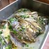 黄金カレイ クリーム煮ハーブ風味