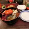 築地の「米花」で海鮮丼。
