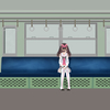 【通勤】電車で座って眠る時、横に倒れない座り方