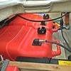 古いボートは「燃料タンクの見直し」をしましょう👆 【  設置型からポータブル型に変更 / YAMAHA UF-20  】