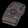テレビのリモコン のイラスト