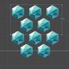 【Unity】uGUI で六角形のタイル状に UI を整列できる「HexGridLayout.cs」紹介
