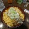 東京【東京グル麺】カツ煮そば ¥570+大盛 ¥100