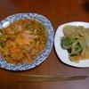 幸運な病のレシピ( 976 )昼:トマトリゾット(米でなくキャベツバージョン)、玉ねぎと青梗菜の炒め(美味しくなかったのでクリーム味にした)